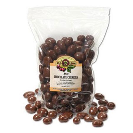 Milk Chocolate Covered Bing Cherries